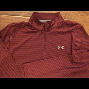 UNDER ARMOUR Coldgear Loose fit striped pullover
